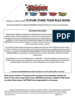 2019 Future Star Tour Rules