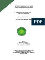 INTERRELASI ISLAM DAN ILMU.doc