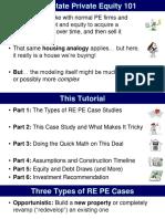 REPE Case 03 Sao Paulo Opportunistic Pre Sold Condos Slides