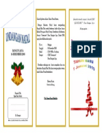 Contoh Undangan Natal 2018