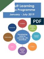 Shetland Adult Learning 2019 Class Programme