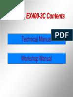 Ex400 3, Ex400 3c Contents