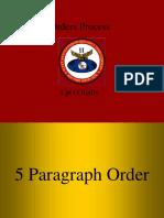 5 Paragraph Order