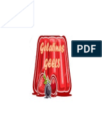 Diseño Para Etiqueta de Gelatina