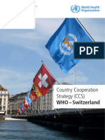Country Cooperation Strategy CCS WHO Switzerland Eng