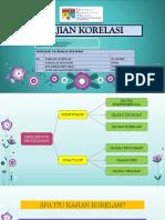 Kajian Korelasi Presentation