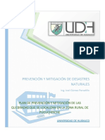 Plan de Prevencion Pucuchinche
