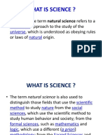 00 WHAT IS SCIENCE.ppt