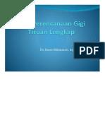 123Slide.org-Pola Perencanaan Gigi Tiruan..Pptx