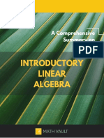 Summary Introductory Linear Algebra