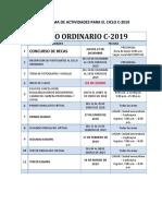 Cronograma c 2019