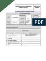 Informe Sesion Padres F. 10. E
