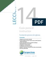 14_GUIA PARA EL INSTRUCTOR — LECCIÓN 14_Versión preliminar