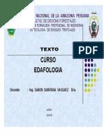Texto Universitario Del Curso Edafologia-2018 II
