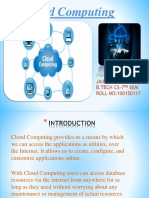 Cloud Computing Ppt CNS
