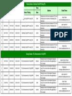 TDL Training Calendar