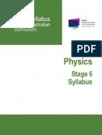 Physics Stage 6 Syllabus 2017