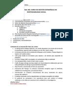 Estructura de Trabajo RSE