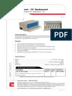 FPP-04 Fiber Panel