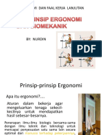 1. Prinsip-prinsip Ergonomi Dan Biomekanik 18
