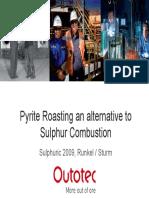 10 Runkel - Sulphuric 2009_Pyrite Roasting_Runkel Sturm_OUTOTEC JH