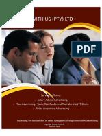 Salary Advice Advertising Brochure