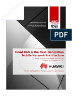 Cloud RAN nextgen architecture