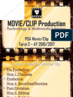 Basic Movie Editing for Junior High