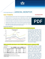 Airlines Financial Monitor August 10