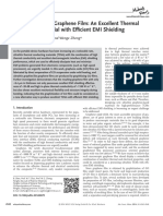 Ultrathin Flexible Graphene Film an Excellent Thermal Conducting Material With Efficient EMI Shielding