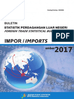 Buletin Statistik BPS Import September