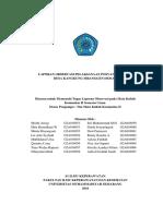 Laporan Observasi Pelaksanaan Posyandu Lansia