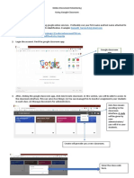 Google Classroom Document Manual