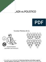 Borlaza vs Polistico