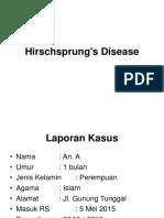 Hirschsprung disease presentasi