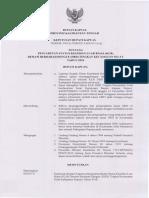 SK Bupati Kapuas Tentang Pencabutan Status KLB DBD Tingkat Kecamatan Selat