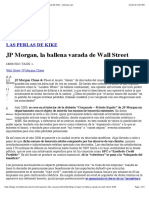 JP Morgan, La Ballena Varada de Wall Street - LAS PERLAS de KIKE - Cotizalia.com
