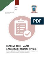 INFORME COSO – Marco Integrado de Control word