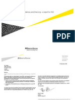 International case studies on delivery and finacing – a report for HS2