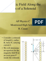 Magnetic Field Along the Axis of a Solenoid1.ppt
