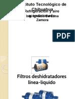 Filtro Deshidratador y Valvula de Expansión