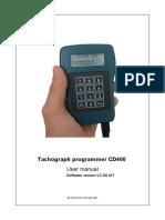 CD400A PROGRAMMER