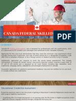 Canada Federal Skilled Worker