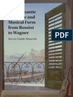 The Romantic Overture and Musical Form From Rossini to Wagner - S. Vande Moortele (2017)