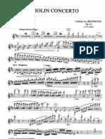Beethoven Violin Concerto Violin