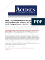 Automated Infrastructure Management (AIM) Solutions Market