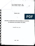 LUNA, Francisco Vidal. Análise da Estrutura Sócio-econômica de Centros de Mineração das Gerais -1718_1804-.pdf