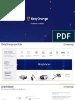 GreyOrange Product - Supply Chain automation company
