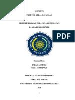 LAPORAN PKL Sistem Informasi Pelayanan Kesehatan Lansia Berbasis Web