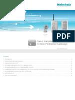 NETLink Ethernet Gateways Quick Start Guide v3 En